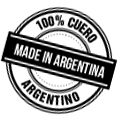100% cuero argentino - Made in Argentina
